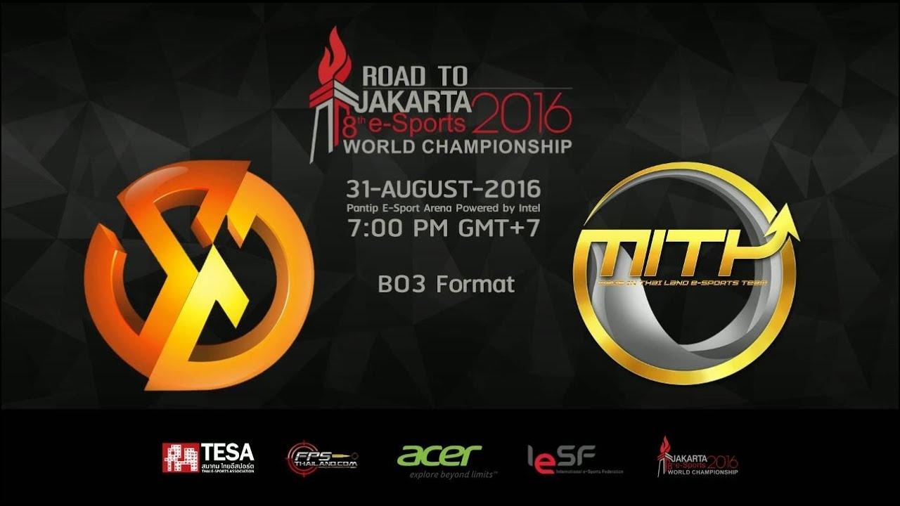 CS:GO IeSF Thailand Grand Final 2016 (Road to Jakarta)