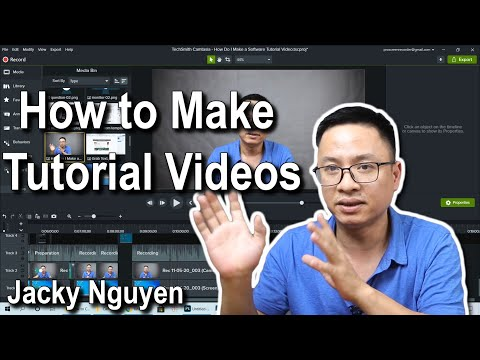 How to Make Software Tutorial Videos