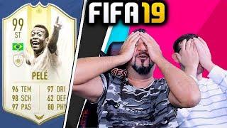 192 YAPTIK 99 PELE VE 4 İKON BU KARTLAR EL YAKIYOR FIFA 19 FUTDRAFT