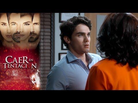 Nico es seducido por Alina | Caer en tentación - Televisa