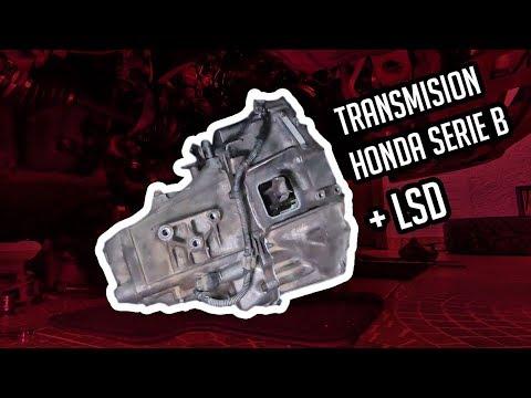 """COMO INSTALAR """"LSD"""" A TU TRANSMISIÓN / HONDA INTEGRA B18C + LSD"""