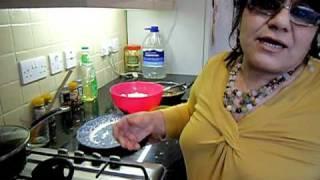 Quorn Recipe Assyrian Kubba Hamuth; Vegetarian Dumpling Stew Part 3/4