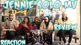 Gambar cover Jennie - Solo MV Reaction/Review Blackpink