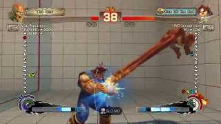 USFIV~ T.Hawk (IND Incognitus) vs.  Dhalsim (VSL Aquarios) HD