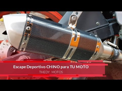 Escape Deportivo Rt250 Mala Idea Escape Chino Deportivo Para Todas Las Motos Youtube