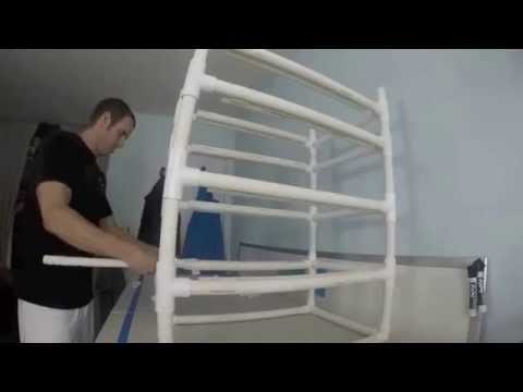 Fully Adjustable PVC Rack And Shelving