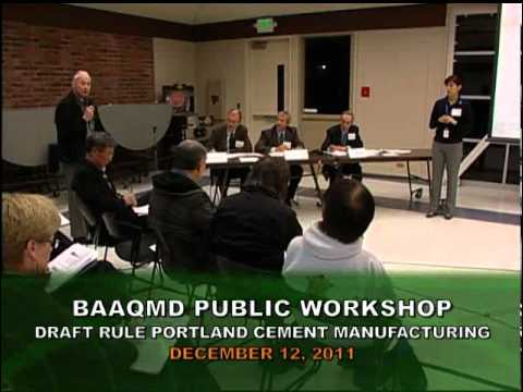 BAAQMD Portland Cement Workshop (2011)