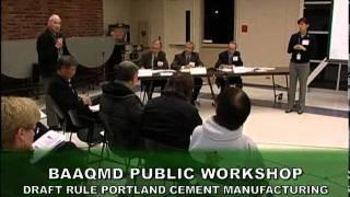BAAQMD Portland Cement Workshop (2011)