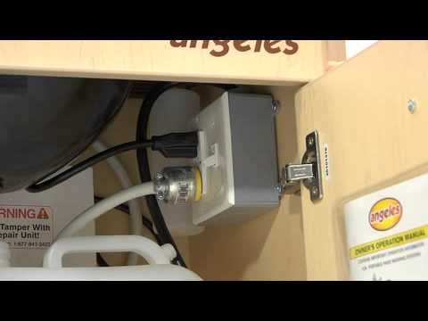 Angeles® Portable Hot Water Sink - YouTube