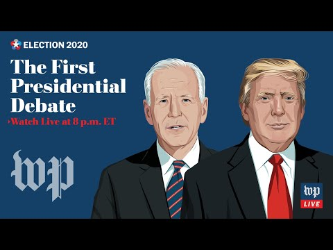 LIVE Sept. 29 at 8 p.m. ET   First 2020 presidential debate in Cleveland
