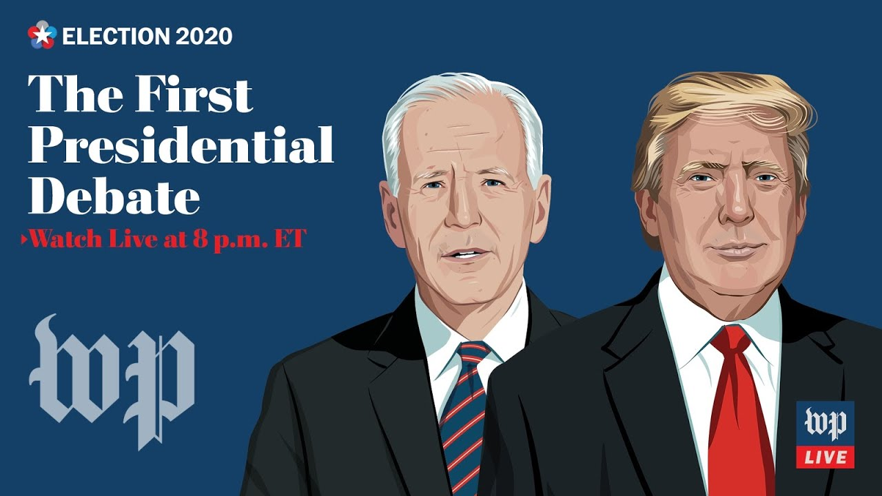 First 2020 presidential debate between Trump and Biden in Cleveland - 9/29 (FULL LIVE STREAM)