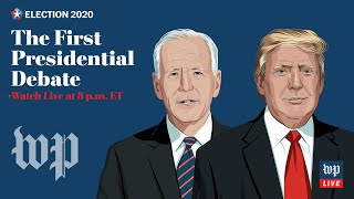 LIVE Sept. 29 at 8 p.m. ET | First 2020 presidential debate in Cleveland