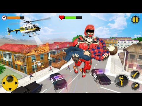 Super Speed Rescue Survival: Flying Hero Games 2 Android Gameplay