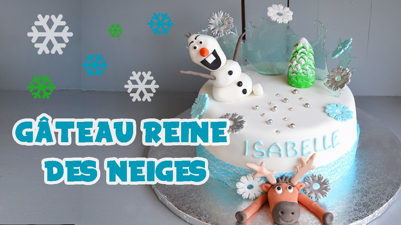 g teau reine des neiges frozen cake cake design youtube. Black Bedroom Furniture Sets. Home Design Ideas