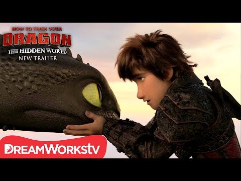 How to Train Your Dragon: The Hidden World trailers