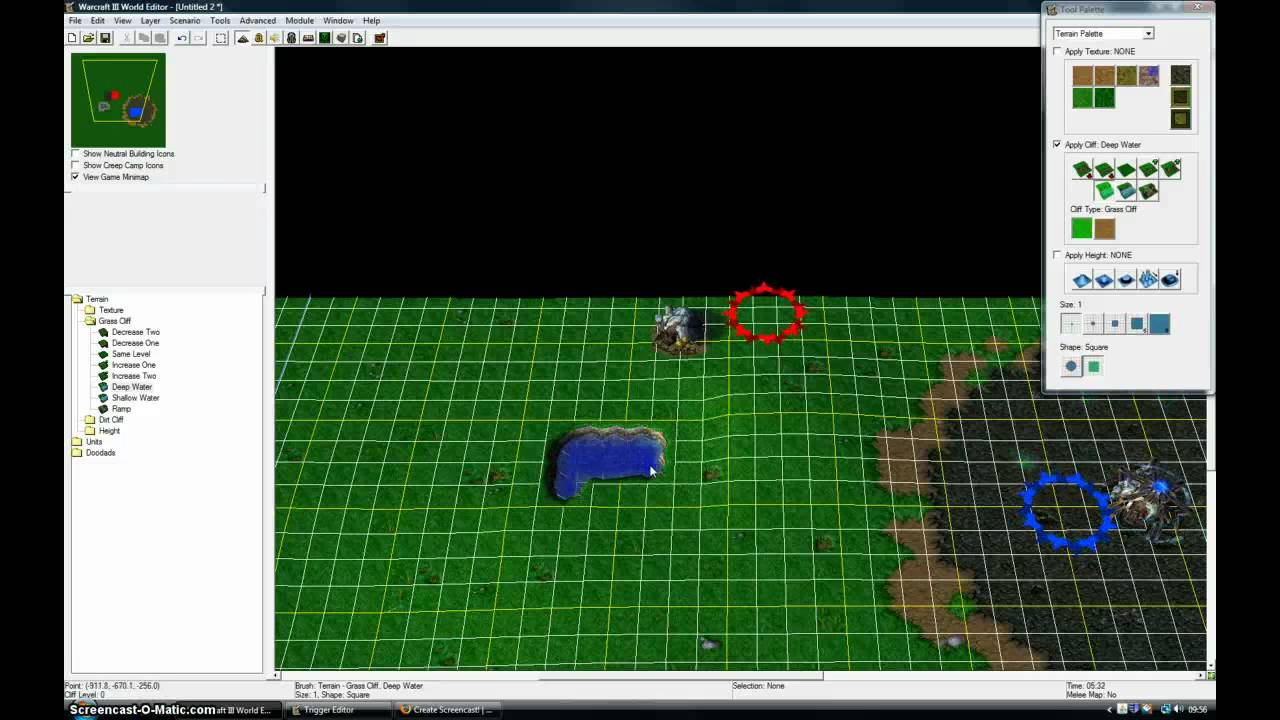 How to create warcraft 3 maps step 2 adding terrain youtube how to create warcraft 3 maps step 2 adding terrain gumiabroncs Gallery