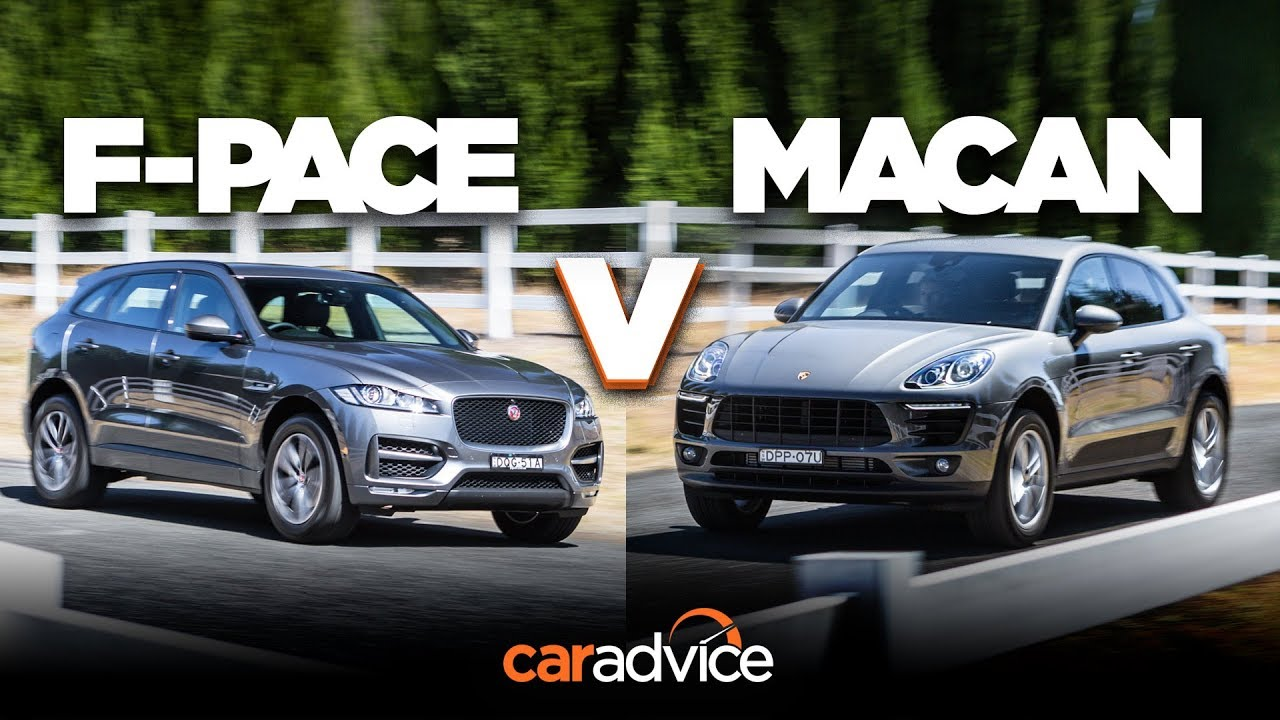 Jaguar F-Pace 25t R-Sport v Porsche Macan (4cyl) comparison - Dauer: 10 Minuten