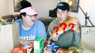 I Let My Postmate Pick Our Food Mukbang