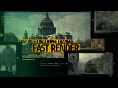 After effects template history opener youtube after effects template history opener pronofoot35fo Gallery