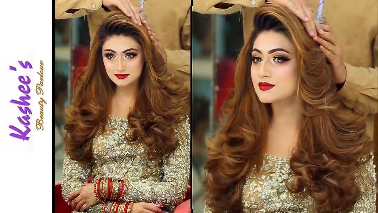 Kashees Hairstyle Party Hairstyle 2019 For Girls Easy Hairstyles Hairstyle For Medium Hair Youtube