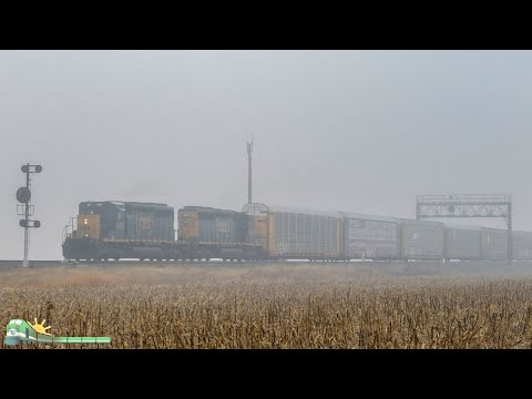 TRAINS on Parade!  Northwest Ohio and Northern Indiana Railfanning