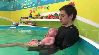 Обучающее видео. Грудничковое плавание.