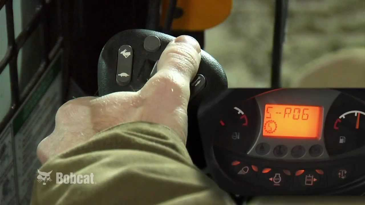 Bobcat Selectable Joystick Controls: The Industry's Most Advanced Loader  Controls