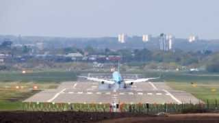 Thomson Landing & Take off @ Birmingham airport BHX ... Nikon P520