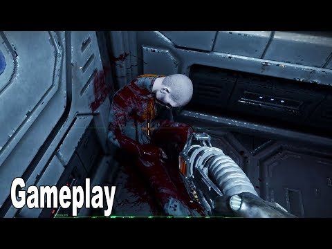 System Shock Remake – Gameplay Demo No Commentary [HD 1080P]