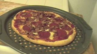 Meat Lovers Pizza - Home Made Pizza Recipe Made From Scratch