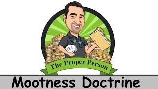 Legal Nuts And Bolts: Mootness Doctrine