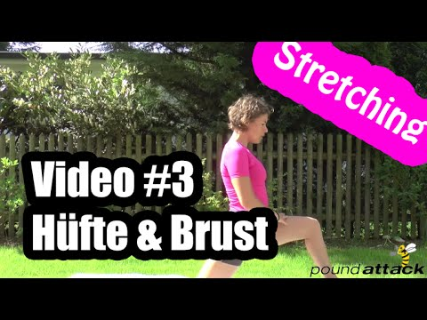 Stretching-Video #3: Stretching Hüfte und Brust | poundattack.de