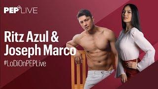 Ritz Azul and Joseph Marco on the popularity of LoDi love team   PEP Live