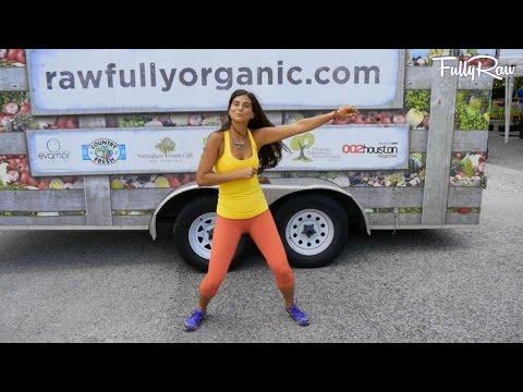 Running Man Dance Challenge at Rawfully Organic! Houston, TX