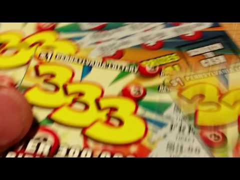NEW PA LOTTERY $1 TICKETS 333~WINNERS~SCRATCH OFF INSTANT GAMES