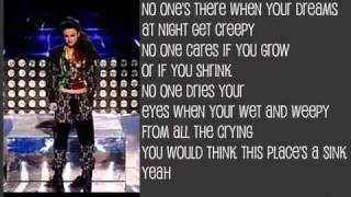 Cher lloyd- Its a hard knock life (Lyrics on screen)