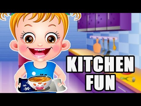 Baby Hazel Kitchen Fun by Baby Hazel Games | Fun Game Videos For Children