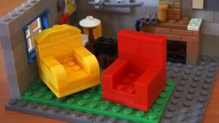 Лего комната Шерлока Холмса