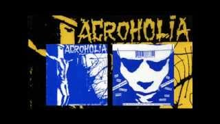 "ACROHOLIA 10 Songs From Split 7"" w. Intestinal Disease (recorded July 1992)"