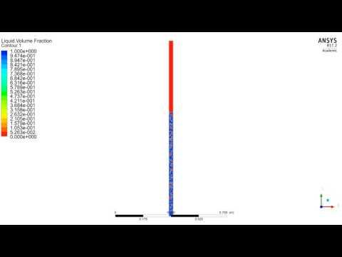 VOF-FLUENT-Multiphase heat pipe