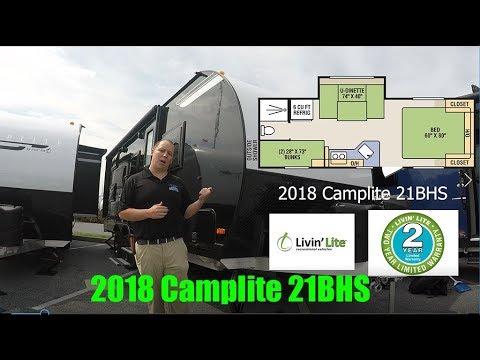 2018 Camplite 21BHS Livin' Lite RV All Aluminum Travel Trailers