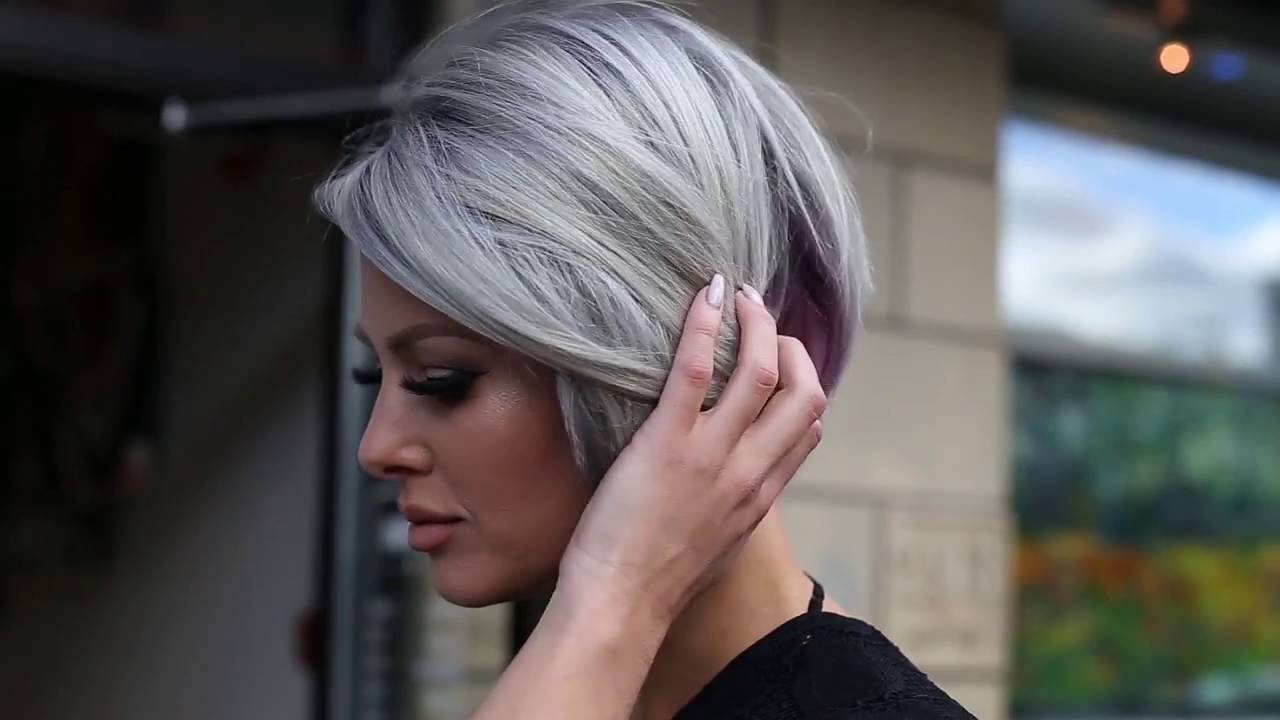Would You Dare To Go Grey On Purpose Youtube