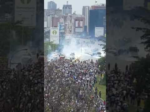 Protest in Venezuela: Caracas