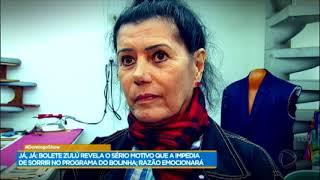 Geraldo Luís revela como vive hoje a ex-bolete Zulú