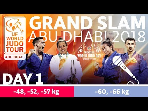 Judo Grand-Slam Abu Dhabi 2018: Day 1