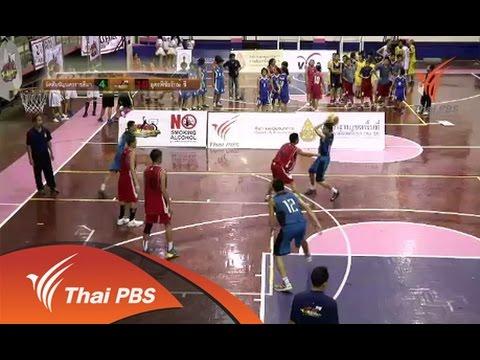OBEC Youth Street Basketball Inspired by ThaiPBS  : ชิงแชมป์ภาคอีสาน  (30 ส.ค. 57)
