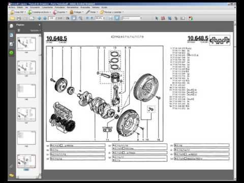 Renault Laguna - Manual de Despiece - Parts Manual
