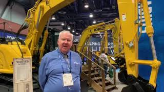 Video still for Kobelco Shows Off Latest Options at ConExpo 2020