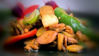 Twice Cooked Pork (Hui Guo Rou) Chinese Style Cooking Recipe