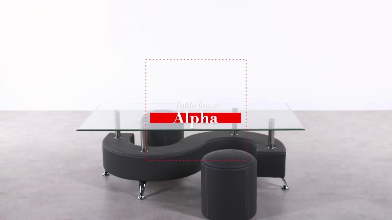 Table Basse Alpha Noir But Youtube
